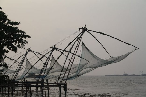 Fort Kochi - Chinese Fishing Nets