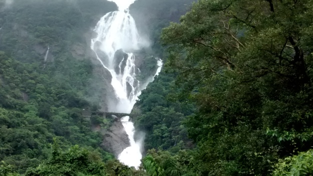 Magnanimity at it's best - Dudhsagar from a distance