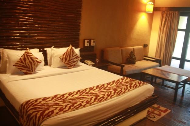 Beds Inside Hotel