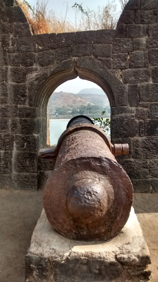 The Cannons of Janjira Fort