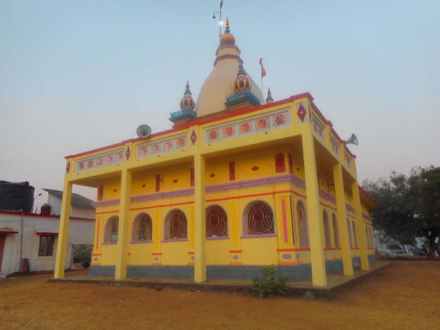 Maruti Temple atop the Hill