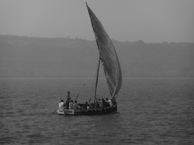 Sail Boat to Janjira Fort