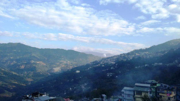 Gangtok View from Tadong