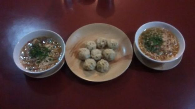 Tibetan Thukpa and Momos